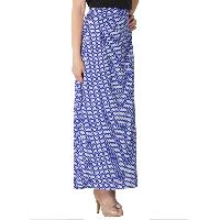 Printed A Line Long Skirts (AM020517-4)