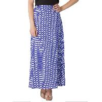 Printed A Line Long Skirts (AM020517-2)