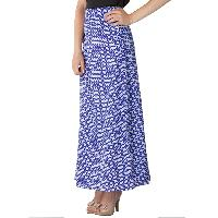 Printed A Line Long Skirts (AM020517-3)