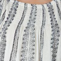 White 3/4th Sleeves Tops (ET52243VL-6)