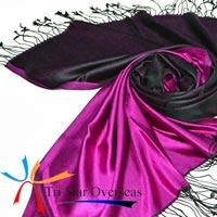Two Tone Silk Shawls