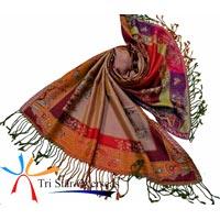 Wool Silk Scarves