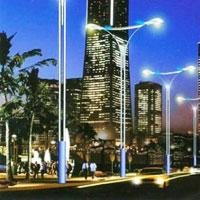 Electric Street Light Poles