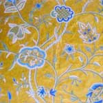 Crewel Fabric Watlab Olivegreen-119