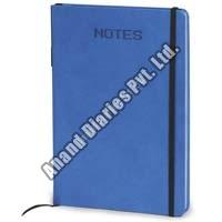 Blue Round Note Book
