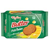 Butter Pista Badam Biscuits