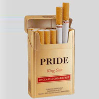 Pride Gold Cigarette