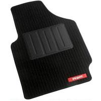 Cord Black Car Mat