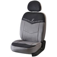 Fantasy Grey Car Seat Cover