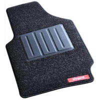 Miami Black Car Mat