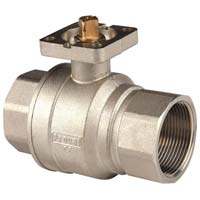 Actuated Brass Ball Valve