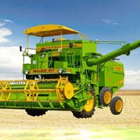 Self Propelled Combine Harvester (Malkit - 997 - 4WD)