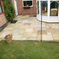 Buff Sandstone Pavers