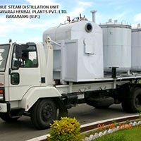 Mobile Steam Distillation Unit