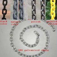 Galvanized Twisted Chains