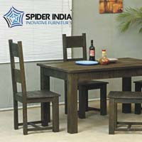 Country Dusk Wooden Dining Tables Set