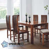 Sheesham 6 Seater Wooden Dining Tables Set