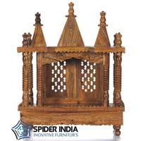 Teak Wood Pooja Mandir