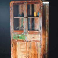 Vintage Wood Color Almirah