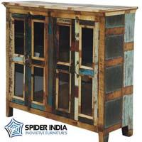 Vintage Wood Cupboard