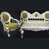 White Maharaja Sofa Set