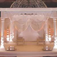 White Palace Wedding Mandaps