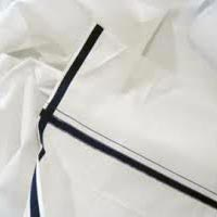 Used White Cotton Dhoti