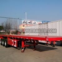 2/3 Axle Flatbed Semi Trailer (30Ton)