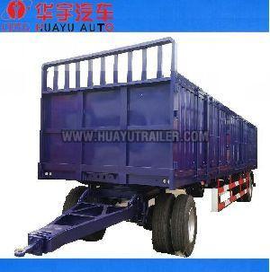 2 axle full cargo trailer