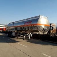 3 Axle Semi Oil Tank Trailer