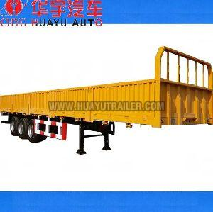 3 Axle semi trailer with side board
