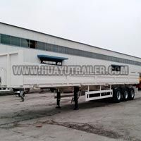 3 Axle Sidewall Truck Semi Trailer