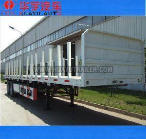 3 axle timber semi trailer
