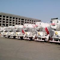 3 Axles Concrete Mixer Truck