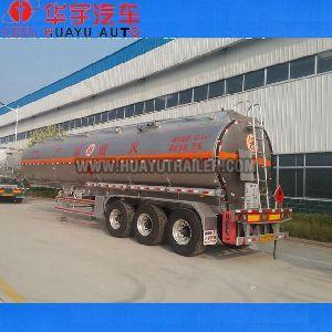 40m3 aluminium alloy gasoline tanker semi trailer