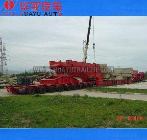 big bridge transport semi trailer