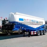 Cement Bulk Transport Semi Trailer