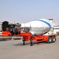 Concrete Mixer Tanker Transport Truck
