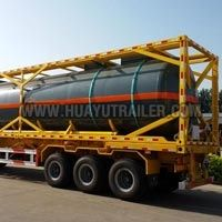 Container Semi Oil Tank Trailer