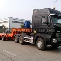 Multi Axle Hydraulic Low Bed Trailer