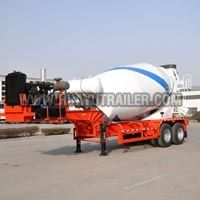 New Type Concrete Mixer Truck