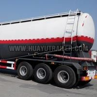 Powder Bulk Cement Tanker Semi Trailer