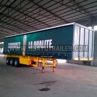 Three Axle Cargo Wall Side Semi Trailer (30T-60T)