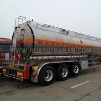 Three Axle Chemical Liquid Tanker Semi Trailer