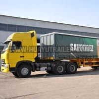 Three Axle Container Semi Trailer (20Feet)