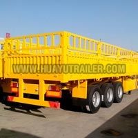 Three Axle Stake Semi Trailer (60Ton)