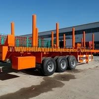 timber semi trailer