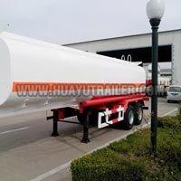 2axle fuel tanker semi-Trailer