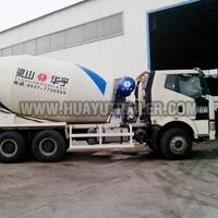 Tri Axle Concrete Mixer Semi Trailer
