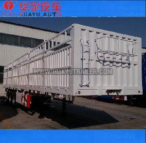 Tri Axle fence semi trailer